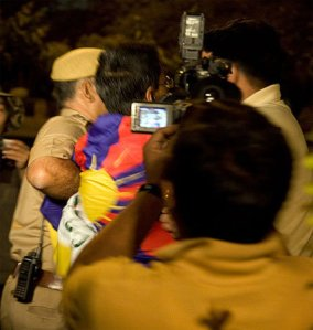 Taken into preventive custody for posing a National Security Threat, Le Meridian Hotel, New Delhi, April 17th, 2008, 4.50am.